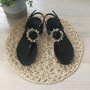 💸💸Coach Hilda Jelly Sandals Bead embellishment